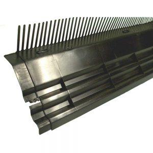 Nedsalekombi-dakvoet 55 mm / 165 mm / 100 cm werkend rood PP