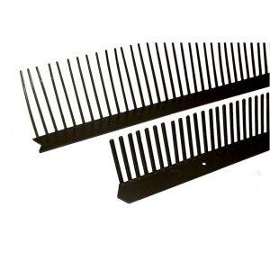 Nedsalevogelschroot 60 mm/100 cm werkend antraciet aluminium